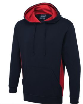 Two Tone embroidered hoody